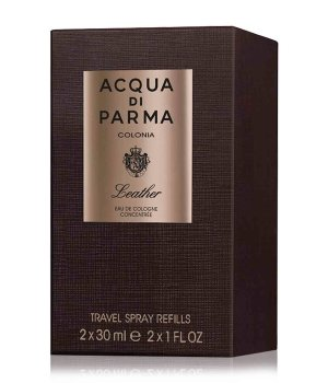Acqua di Parma Colonia Ingredient Collection Colonia Leather Travel Spray Refill Eau de Cologne für Damen und Herren