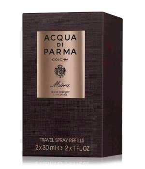 Acqua di Parma Colonia Ingredient Collection Colonia Mirra Travel Spray Refill Eau de Cologne für Damen und Herren