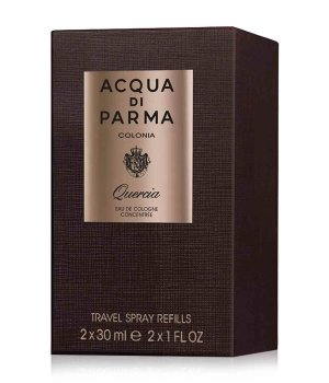 Acqua di Parma Colonia Ingredient Collection Colonia Quercia Travel Spray Refill Eau de Cologne für Damen und Herren