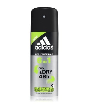 Adidas Anti Perspirant 6in1 Man Deodorant Spray für Herren