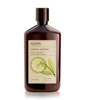 AHAVA Mineral Botanic Lemon & Sage Duschcreme für Damen