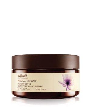 AHAVA Mineral Botanic Rich Lotus-Kastanie Körperbutter für Damen