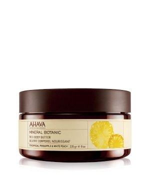 AHAVA Mineral Botanic Rich Tropical Pineapple &  White Peach Körperbutter für Damen