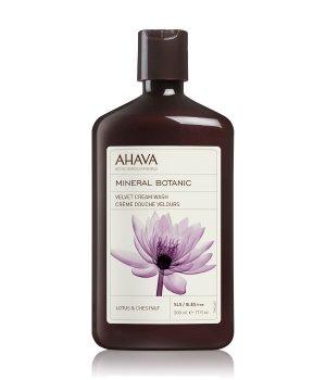 AHAVA Mineral Botanic Velvet Cream Wash Lotus-Kastanie Duschgel für Damen