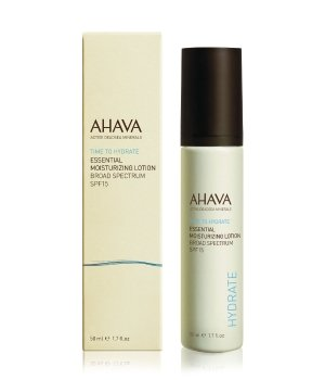 AHAVA Time to Hydrate Essential Moisturizing SPF 15 Gesichtslotion für Damen