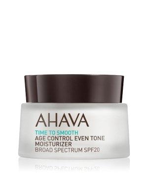 AHAVA Time to Smooth Age Control Even Tone Moisturizer Broad Spectrum SPF 20 Gesichtscreme für Damen