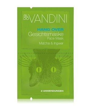 Aldo Vandini Hang Over Matcha & Ingwer Gesichtsmaske für Damen und Herren