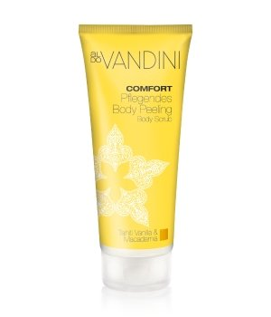 Aldo Vandini Comfort Tahiti Vanilla & Macadamia Körperpeeling für Damen