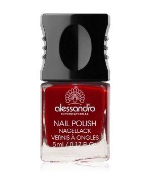 Alessandro Nail Polish Colour Explosion Nagellack  Nr. 126  - Velvet Red