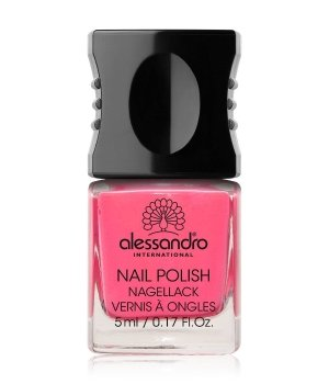 Alessandro Nail Polish Colour Explosion Small Nagellack 5 ml Nr. 142 - Neon Pink