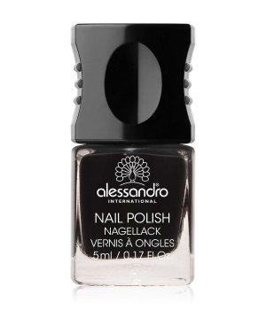 Alessandro Nail Polish Colour Explosion Small Nagellack 5 ml Nr. 177 - Midnight Black