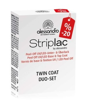 Alessandro Striplac  Nagelunter- und Nagelüberlack für Damen