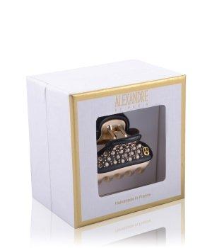 Alexandre de Paris Pince Vendôme 3,8 cm Schwarz-Crystals Haarspangen für Damen