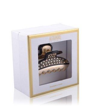 Alexandre de Paris Pince Vendôme 7,5 cm Schwarz-Crystals Haarspangen für Damen