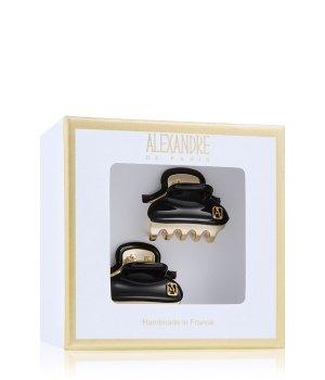 Alexandre de Paris Pince Vendôme Schwarz-Gold Haarspangen für Damen
