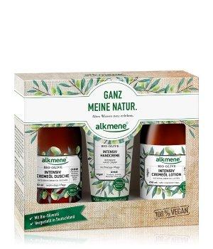 alkmene Bio Olive Trio Set Körperpflegeset für Damen und Herren