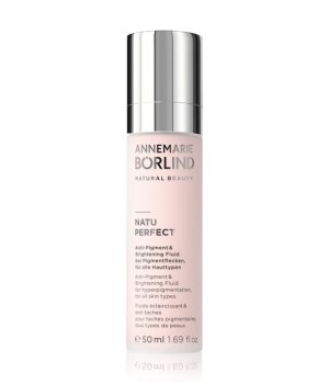 ANNEMARIE BÖRLIND NatuPerfect Anti-Pigment & Brightening Gesichtsfluid für Damen