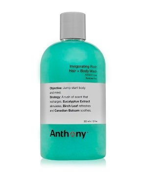 Anthony Invigorating Rush Hair & Body Wash Duschgel für Herren