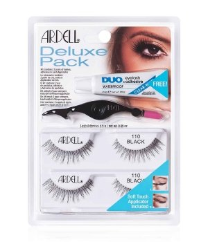 Ardell Deluxe Pack Nr. 110 - Black Wimpern für Damen