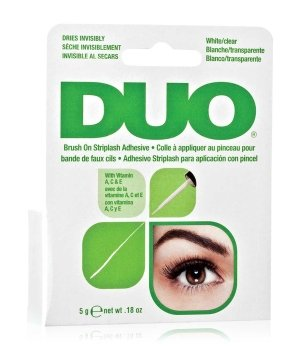 Ardell Duo Adhesive Brush On Striplash - White/clear Wimpernkleber für Damen