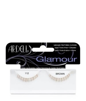 Ardell Glamour Nr. 112 - Brown Wimpern für Damen