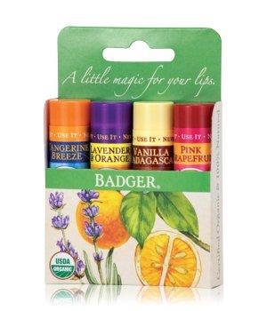 Badger Lip Balm Green Classic Lippenpflegeset für Damen und Herren
