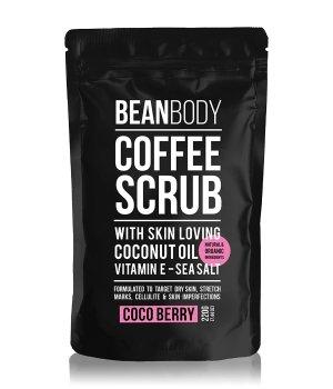 BEAN BODY Coffee Scrub Coco Berry Körperpeeling für Damen und Herren