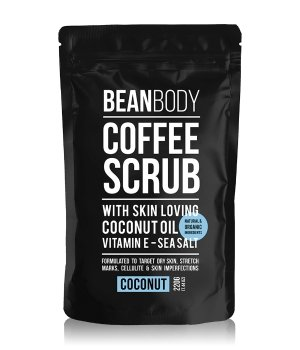 BEAN BODY Coffee Scrub Coconut Körperpeeling 220 g