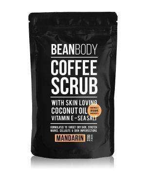 BEAN BODY Coffee Scrub Mandarin Körperpeeling für Damen und Herren