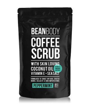 BEAN BODY Coffee Scrub Peppermint Körperpeeling für Damen und Herren