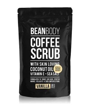 BEAN BODY Coffee Scrub Vanilla Körperpeeling für Damen und Herren