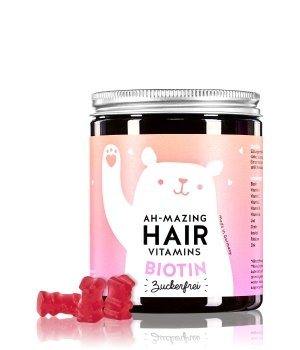 bears with benefits Ah-Mazing Hair Vitamins Biotin Sugarfree Nahrungsergänzungsmittel für Damen