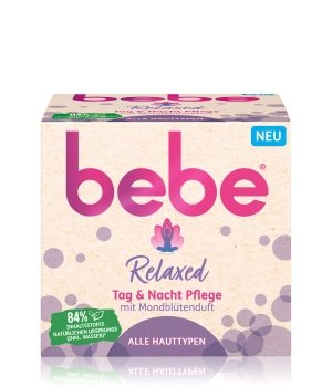 bebe Relaxed Tag & Nacht Pflege Gesichtscreme