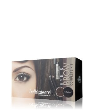 bellápierre Eye & Brow Complete Kit Noir Augen Make-up Set für Damen