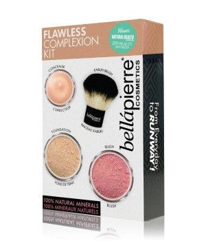 bellápierre Flawless Complexion Kit Dark Gesicht Make-up Set für Damen