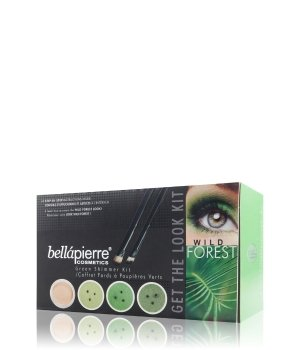 bellápierre Get the Look Kit Wild Forest Augen Make-up Set für Damen