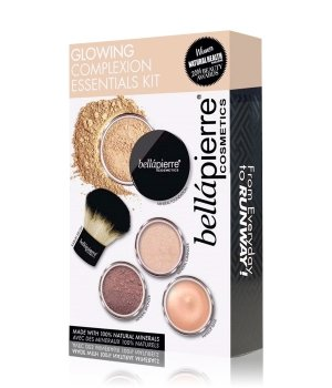 bellápierre Glowing Complexion Essentials Kit Medium Gesicht Make-up Set für Damen