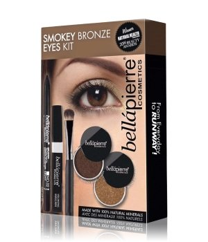 bellápierre Smokey Bronze Eyes Kit  Augen Make-up Set für Damen