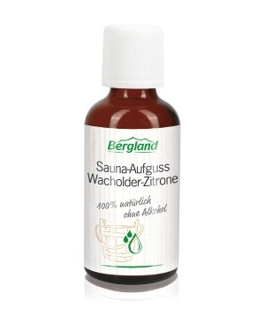 Bergland Wellness Wacholder-Zitrone Saunaaufguss für Damen und Herren