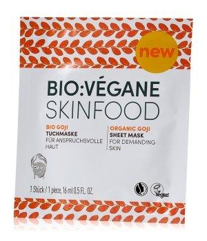 Bio:Vegane Bio Goji Tuchmaske 1 Stk