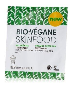 Bio:Vegane Bio Grüntee Tuchmaske 1 Stk