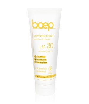 boep Naturkosmetik Sensitiv-Parfümfrei LSF 30 Sonnencreme für Damen und Herren