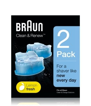 Braun Clean & Renew  Reinigungskartuschen für Herren
