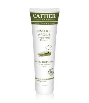 Cattier Gesichtspflege Grüne Heilerde - Minze Gesichtsmaske für Damen und Herren