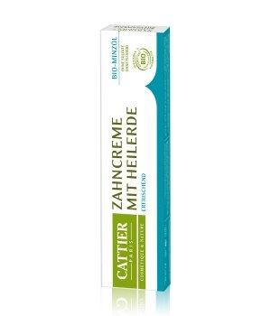 Cattier Zahnpflege Heilerde - Bio-Minzöl Zahnpasta für Damen und Herren