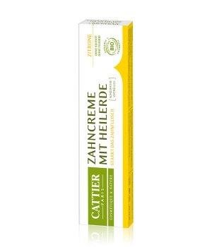 Cattier Zahnpflege Heilerde - Zitrone Zahnpasta für Damen und Herren