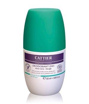 Cattier Körperpflege Aloe Vera - Salbei Deodorant Roll-On für Damen und Herren