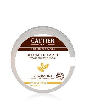 Cattier Körperpflege Sheabutter - Honig Körperbutter für Damen und Herren