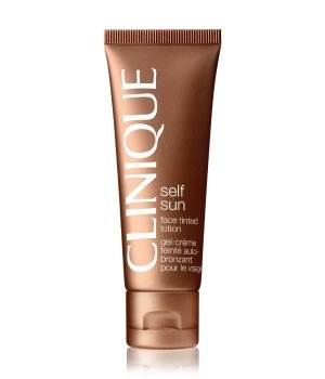 Clinique Self sun Face Tinted Selbstbräunungslotion für Damen