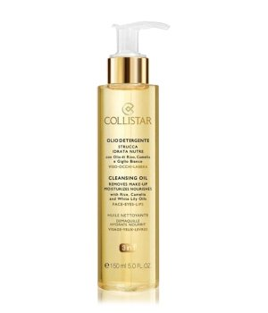 Collistar Face Care Cleansing Oil with Rice, Camelia and White Lily Oils Reinigungsöl für Damen und Herren